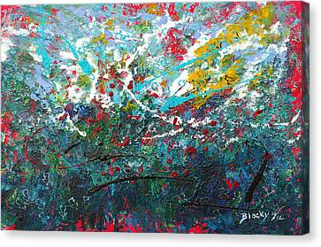 Spring Has Sprung Canvas Print by Donna Blackhall