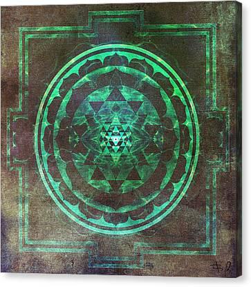 Yantra Canvas Print - Sri Yantra by Filippo B