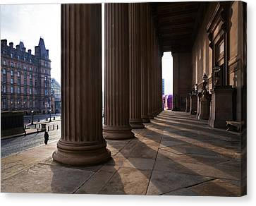 St Georges Hall, Liverpool, Merseyside Canvas Print by Panoramic Images