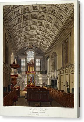 St. James's Palace Canvas Print by British Library