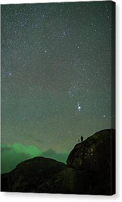 Stargazing Canvas Print by Tommy Eliassen