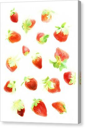 Strawberries Canvas Print by HD Connelly