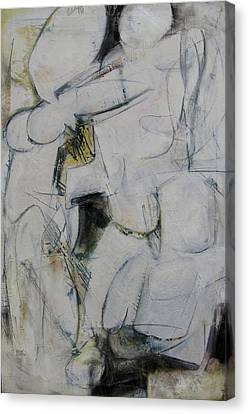 Canvas Print featuring the painting Study by Fred Smilde