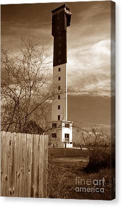 Sullivans Island Lighthouse Canvas Print