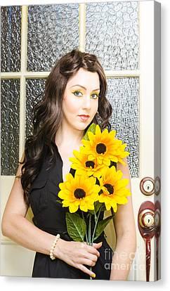 Sun Flower Canvas Print by Jorgo Photography - Wall Art Gallery