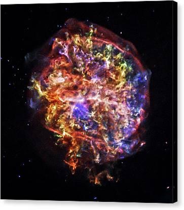 Supernova Remnant Canvas Print by Nasa/cxc/sao