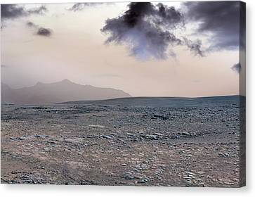 Surface Of Venus Canvas Print