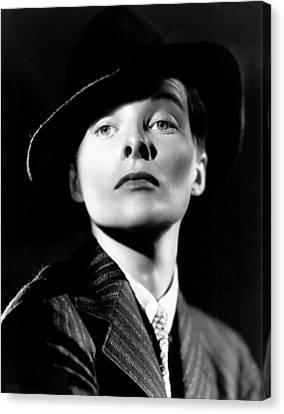 Sylvia Scarlett, Katharine Hepburn, 1935 Canvas Print by Everett