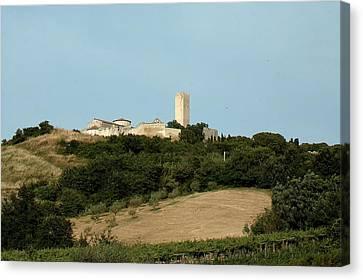 Tarquinia Landscape Canvas Print