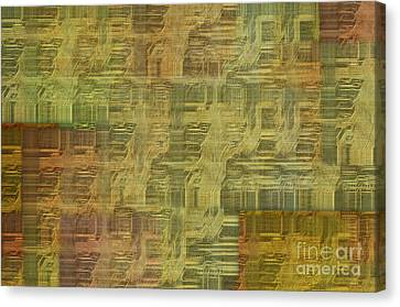 Technology Abstract Background Canvas Print by Michal Boubin