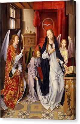 The Annunciation Canvas Print by Hans Memling