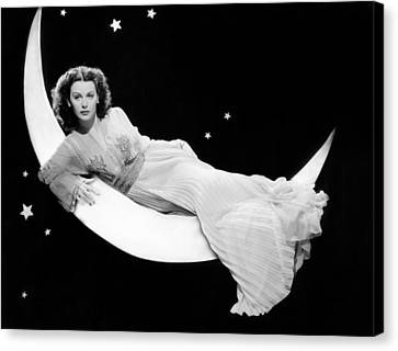 The Heavenly Body, Hedy Lamarr, 1944 Canvas Print by Everett