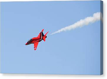 The Red Arrows Canvas Print by Ashley Cooper