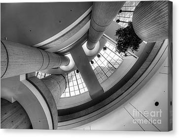 The Renaissance Center Canvas Print by Twenty Two North Photography