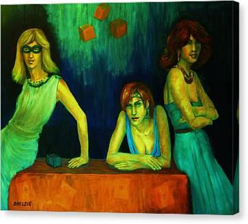 The Secret Canvas Print by Dagmar Helbig