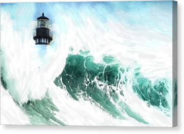 The Wave Canvas Print by Steve K
