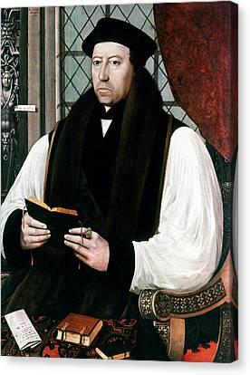 Thomas Cranmer (1489-1556) Canvas Print