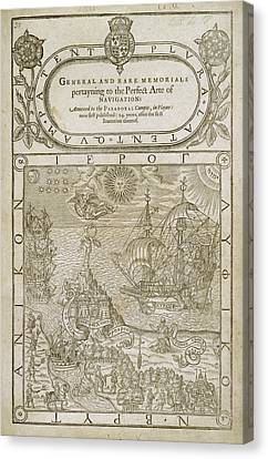 Title Page Canvas Print by British Library