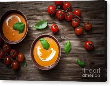 Tomato Soup Canvas Print by Kati Molin