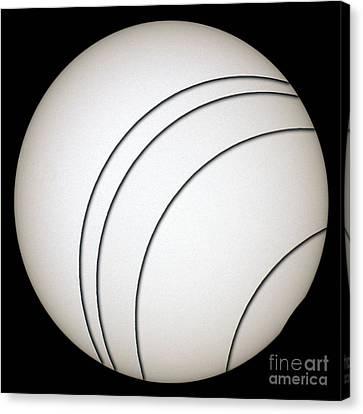 Total Solar Eclipse Canvas Print by Laurent Laveder
