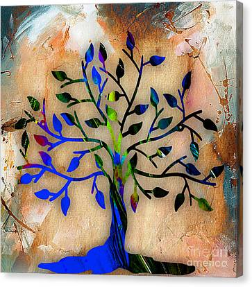Tree Of Life Painting Canvas Print