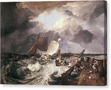 Londoners Canvas Print - Turner, Joseph Mallord William by Everett