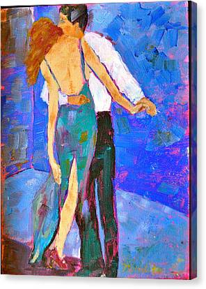 Two To Tango Canvas Print