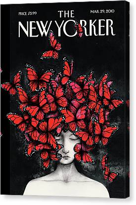 New Yorker March 29th, 2010 Canvas Print