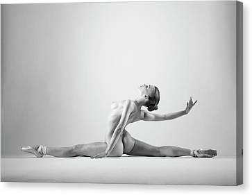 Ballerinas Canvas Print - Untitled by Arkadiusz Branicki