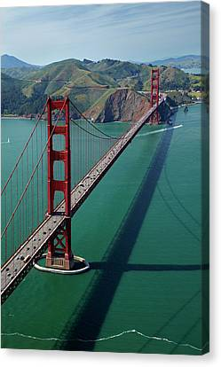 Usa, California, San Francisco, Golden Canvas Print