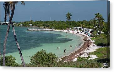 Usa, Florida, Bahia Honda State Park Canvas Print by Charles Crust