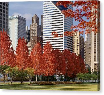 Concert Images Canvas Print - Usa Illinois Chicago Millennium Park Pritzker Pavilion by Panoramic Images