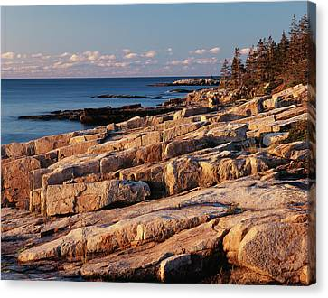 Usa, Maine, Acadia National Park, Mt Canvas Print