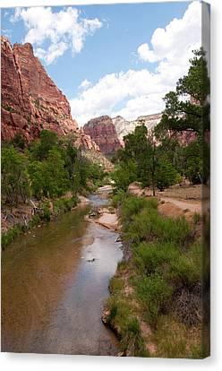 Usa Utah, Zion National Park Canvas Print