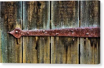 Log Cabin Canvas Print - Usa, Virginia, Roanoke, Explore Park by Jaynes Gallery