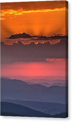 Usa, West Virginia, Davis Canvas Print