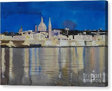 Valletta Malta Canvas Print