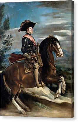 Vel Zquez Diego Rodr Guez De Silva Y Canvas Print by Everett