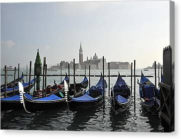 Canvas Print featuring the photograph Venice  Italy by John Jacquemain