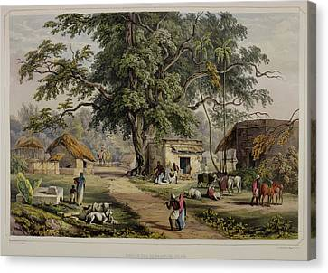 Views Of Calcutta And Its Environs Canvas Print
