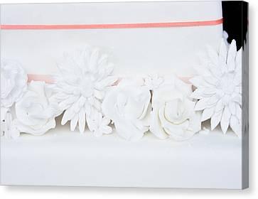 Wedding Cake Canvas Print by Tom Gowanlock