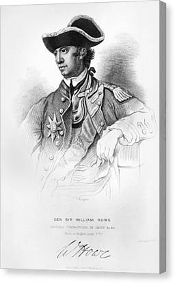 William Howe (1729-1814) Canvas Print by Granger