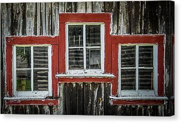 3 Windows Canvas Print by Paul Freidlund