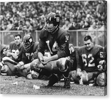 Y.a. Tittle Canvas Print by Retro Images Archive