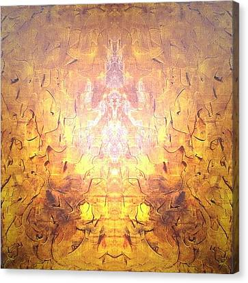 Yellow Canvas Print by Pirsens Huguette