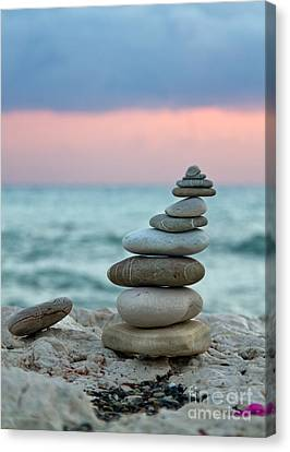 Ocean Canvas Print - Zen by Stelios Kleanthous