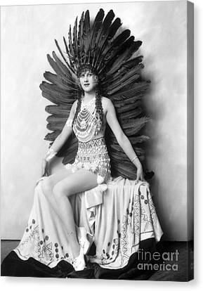 Ziegfeld Showgirl - Hazel Forbes - Whoopee Canvas Print by MMG Archive Prints