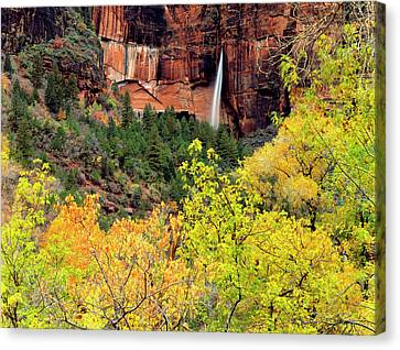 Zion National Park, Utah Canvas Print by Scott T. Smith