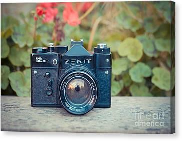 Old Vintage Camera Canvas Print by Sabino Parente