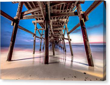 30 Seconds Under San Clemente Pier Canvas Print